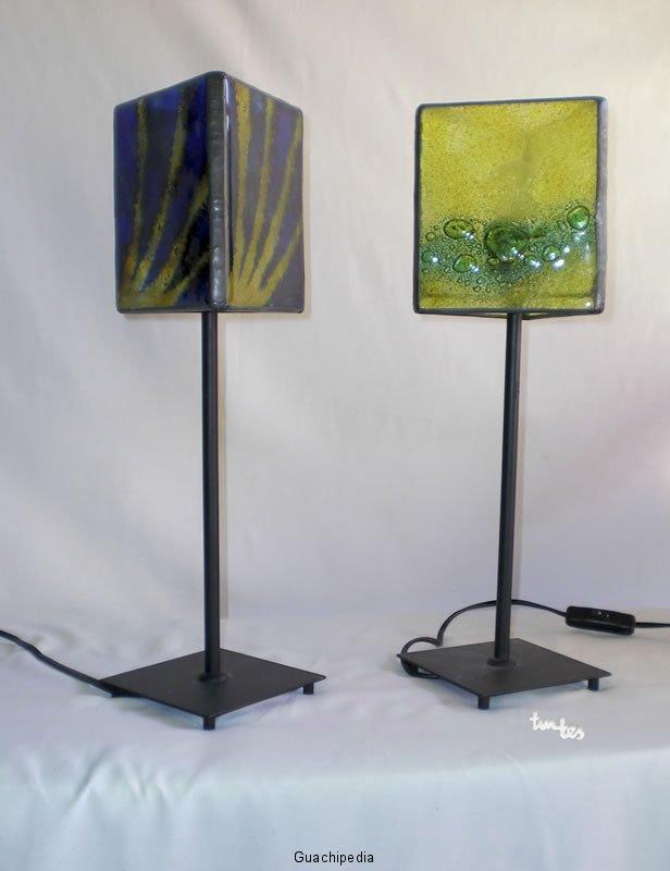 lampara-mesa-de-vidrio-fusing