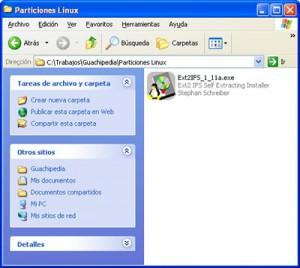 Descargado el fichero Ext2IFS_1_11a.exe