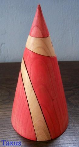 Cono de Apolonio en color Rojo