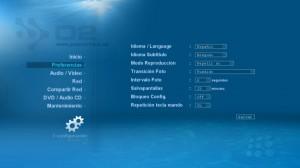 Configuracion del idioma en español