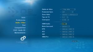 Preferencia Audio Video del Popcorn Hour A110