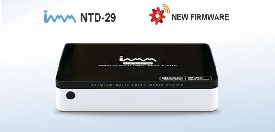 IAMM NTD29 - Firmware