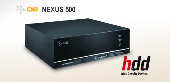 O2 NEXUS 500 - HDD
