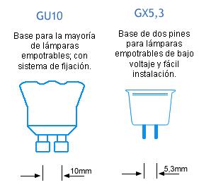ventajas de las bombillas gu10 respecto a las gx5 3 mr16 gu10 vs gx5 3 discos duros. Black Bedroom Furniture Sets. Home Design Ideas