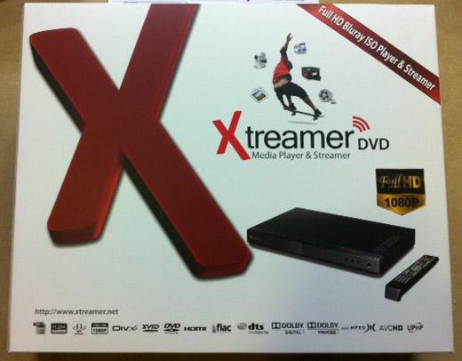 Caja Xtreamer DVD