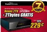 Oferta Nexus2TV + HDD 2 Teras + Wifi + Bolsa