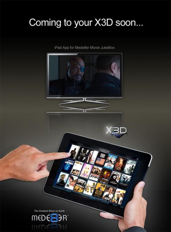Mede8er V2 iPad Movie JukeBox