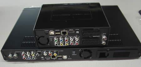 Comparando MR5000 y HMR600 - Conexiones