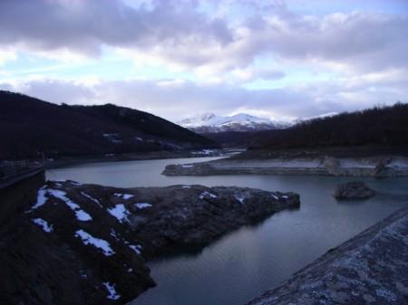 Embalse de Ruesga (Palencia). Invierno 2009.