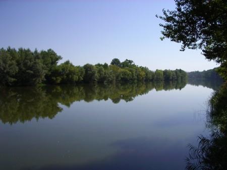 Río Duero a su paso por Toro (Zamora). Verano 2010