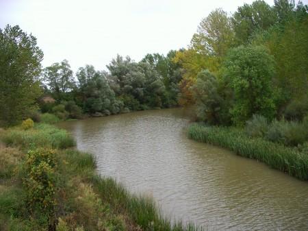 Río Duero a su paso por Cubo de la Solana (Soria). Otoño 2010