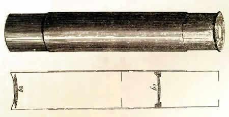 Microscopio de Hans y Zacarias  Janssen