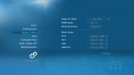 Preferencias Audio/Video kaiboer K200 / K100