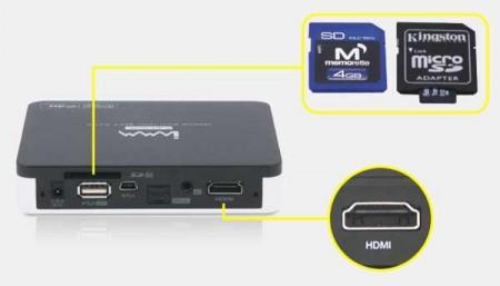Lector de Tarjetas SD y HDMI 1.3 - Iamm NTD29
