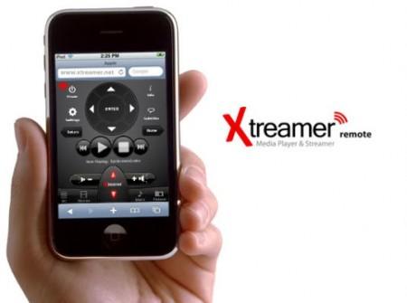 Control web del Xtreamer desde un Iphone